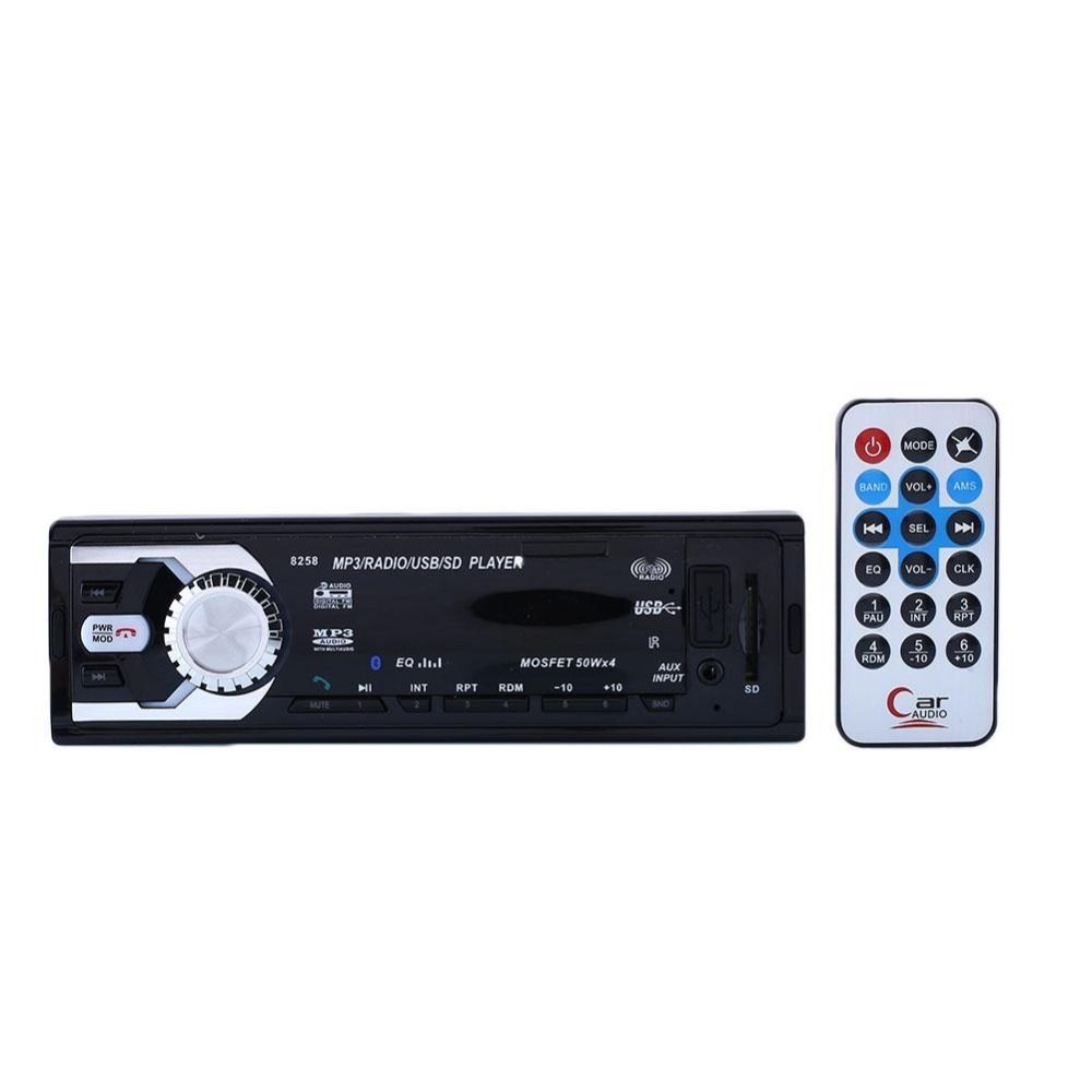 Car MP3 Player 12V Bluetooth FM Radio MP3 Car Audio Player USB SD AUX APE FLAC WMA Car Electronics In Dash One DIN