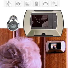 2.4 inch Screen Monitor LCD Digital Peephole Viewer Digital Security Door Eye Peephole Viewer Doorbell HD Camera