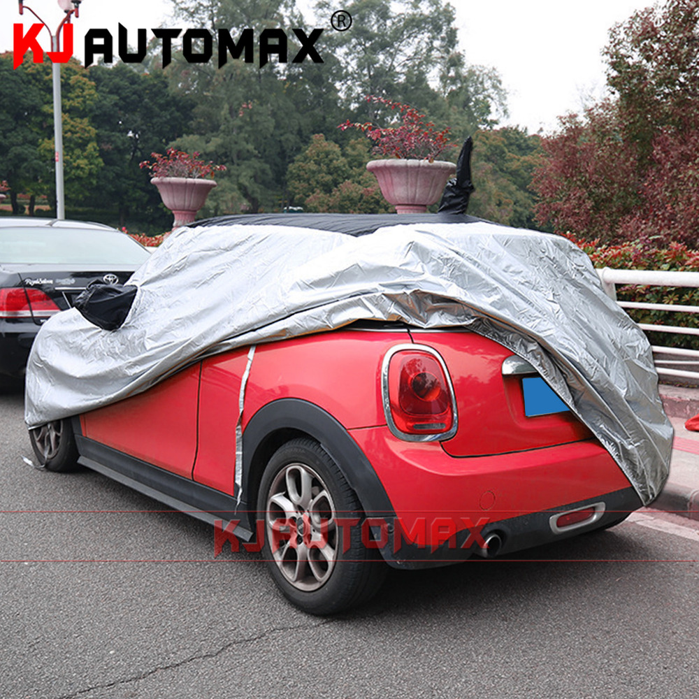 цена на Car cover Sun protection Thickening Insulation Anti-decking For Mini Cooper F56 Anti-fouling KJAUTOMAX