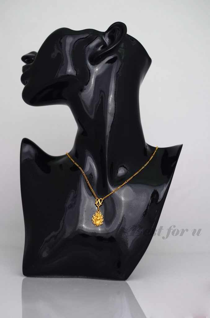 """2018 New 11"""" Jewelry Necklace Earring Mannequin Display Stand Bust Decor Figure Mannequin Model Jewelry Holder Rack Sturdy Store"""