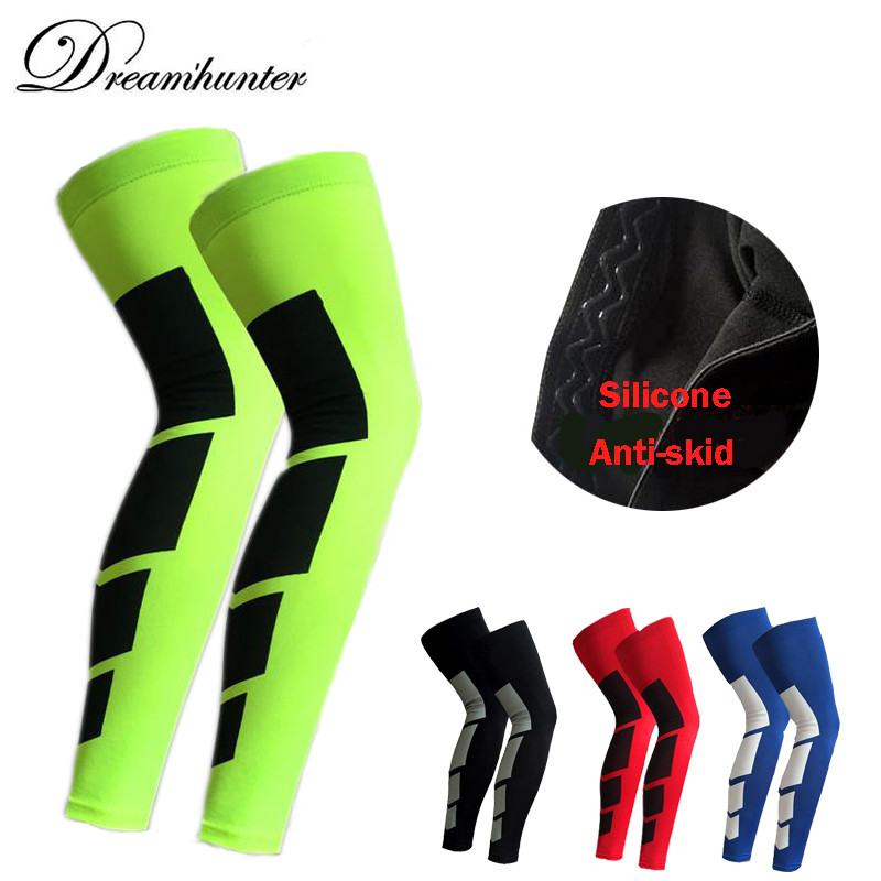 Basketball Football leg warmers cycling leg warmers men calf compression sleeves lengthen leg protection knee support