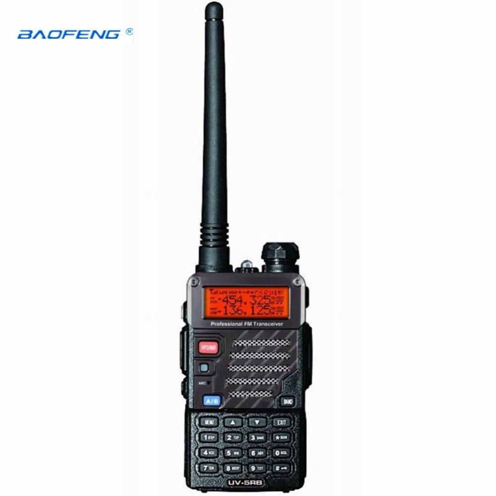 New Baofeng UV-5RB For Police Walkie Talkies Scanner Radio Dual Band Cb Ham Radio Transceiver UHF 400-470MHz & VHF 136-174MHz