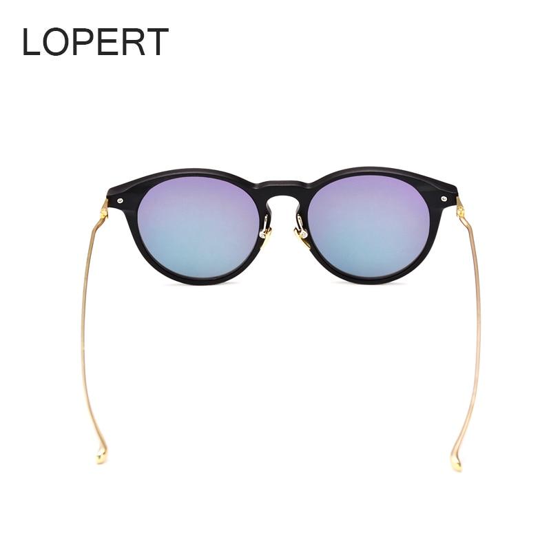 LOPERT Rodada Moda Olho de Gato Óculos De Sol Das Mulheres Designer ... 34bad3ace8