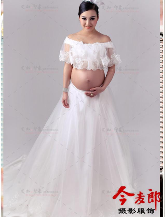 Online get cheap pregnancy wedding dress for Pregnancy dress for wedding