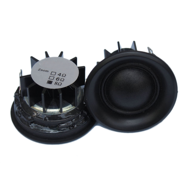 "New 1.5"" inch 40mm 4Ohm 6Ohm 8Ohm 10W Silk Film High Pitch Tweeter Home Audio Car Modification Treble Speaker Stereo Loudspeaker