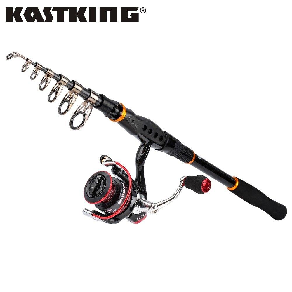 KastKing Sharky II 10+1 Shielded Stainless Steel Ball Bearings Spinning Fishing Reel + 1.8M Portable Fishing Rod Combo смеситель elipso ii stainless steel 514882 blanco