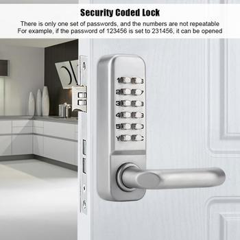 цена на 10 Digital Door Lock Password Door Locks Smart Code Keypad Password Keyless Door Lock Locker cerradura