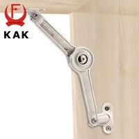 KAK Randomly Stop Adjustable Hinge Cabinet Cupboard Door Furniture Lift Up Strut Lid Flap Stay Support
