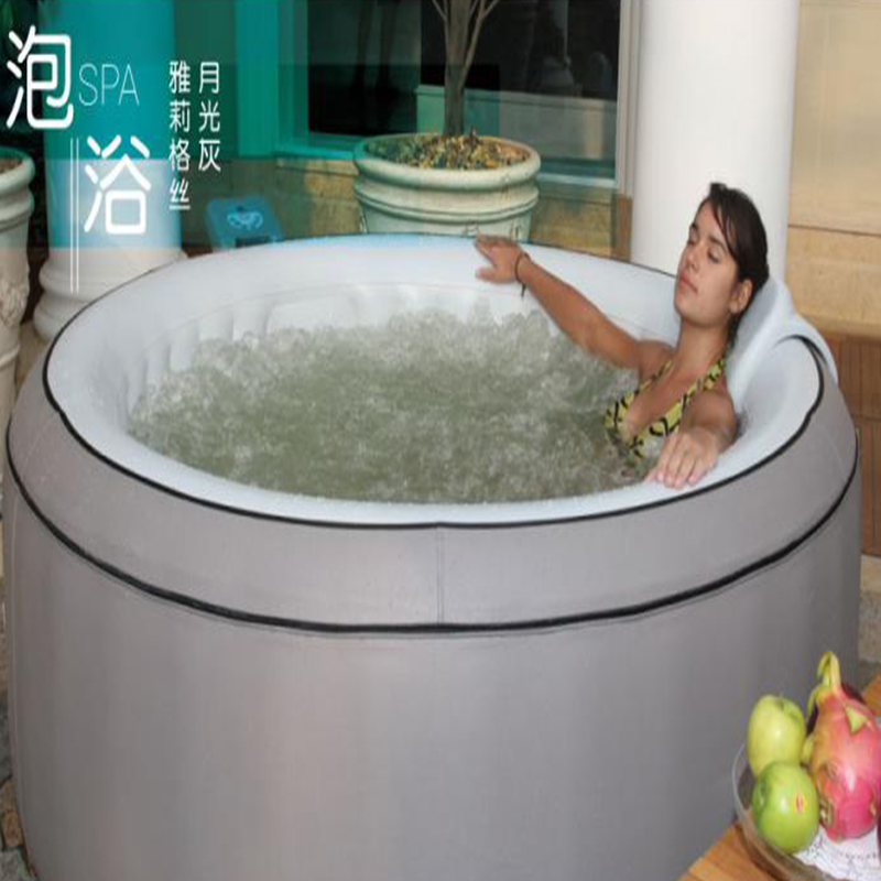 Mspa Inflatable Massage bathtub Swimming Pool natatorium 4 people ...