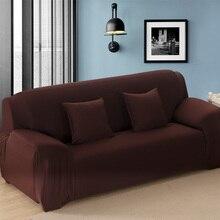 Soild Цвет обтягивает все включено Чехол на диван стрейч sofa slipcover Ткань эластичный чехол для дивана диван на двоих Мебель Обложка 1 шт.