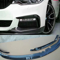 G30 G38 MP style Carbon Fiber front bumper lip for BMW G30 G38 5 series 530i 540i car body kit 2018
