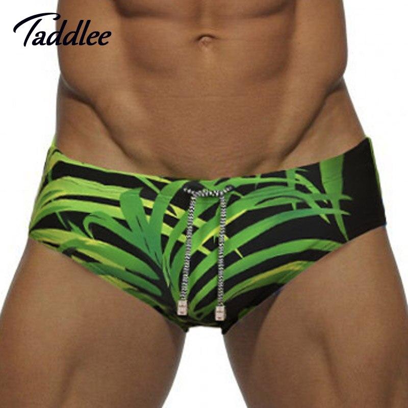 Taddlee di Marca Uomini Uomo Costumi Da Bagno Costumi Da Bagno Pad Anteriore Migliorare Nuoto Slip del Bikini di Nuoto del Mens del Bordo di Spuma Gay Sacchetto Pene WJ