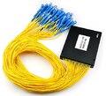 Sc 1 X 64 PLC одномодовый оптический разветвитель FTTH PLC ABS тип FBT плк сплиттер оптическое волокно разъем SC бесплатная доставка