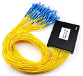 Sc 1 X 64 PLC monomodo de fibra óptica FTTH PLC ABS tipo FBT PLC fibra óptica splitter SC conector frete grátis