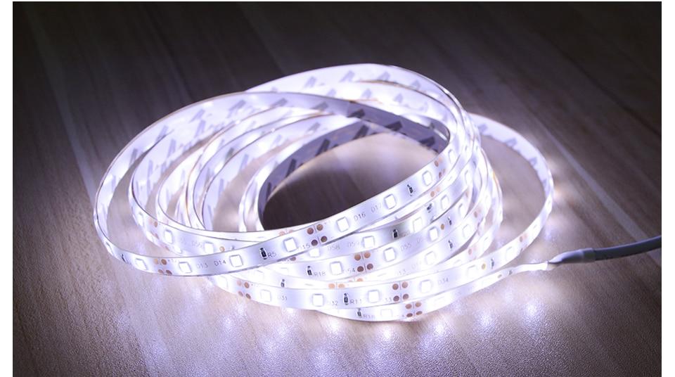 HTB1wpiWg3vD8KJjSsplq6yIEFXal AIMENGTE DC12V LED Strip Motion Sensor Light Auto ON/OFF Flexible LED Tape 1M 2M 3M 4M 5M SMD2835 Bed light with power supply