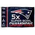 New England Patriots Super Bowl 2016 LI Campeones Bandera