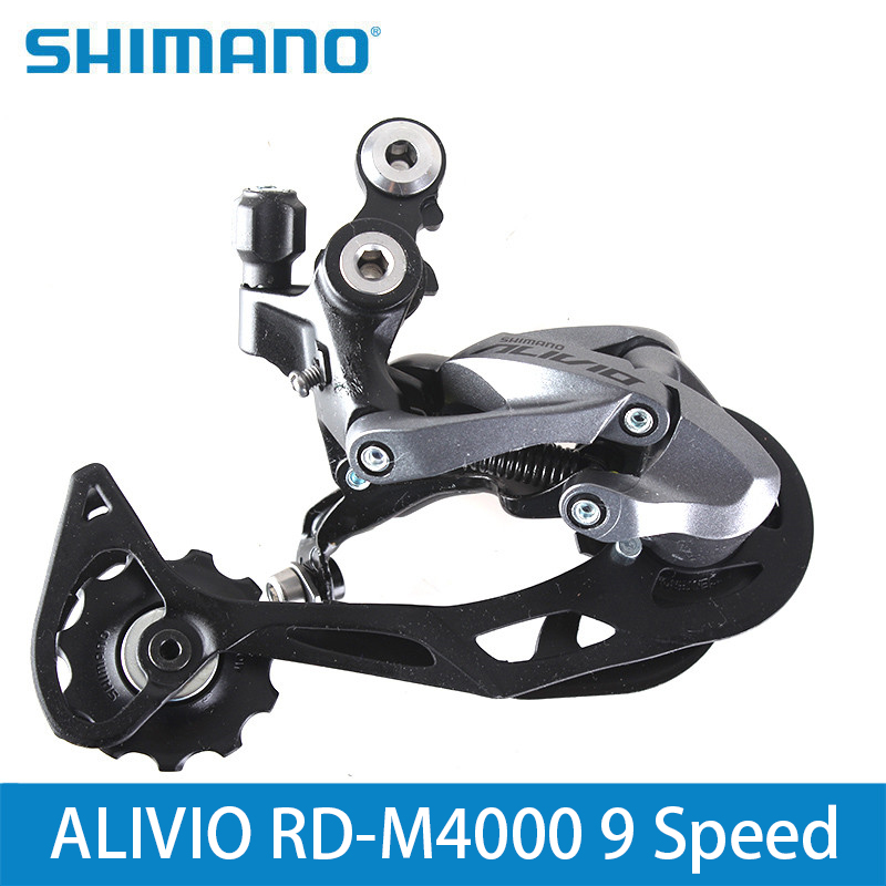 Honesty Shimano Alivio Rd-m4000 9 Speed Rear Derailleur 3s*9s 27s Mtb Bike Bicycle Long Cage Derailleurs M4000 Lucky Crazwind For Fast Shipping Sports & Entertainment