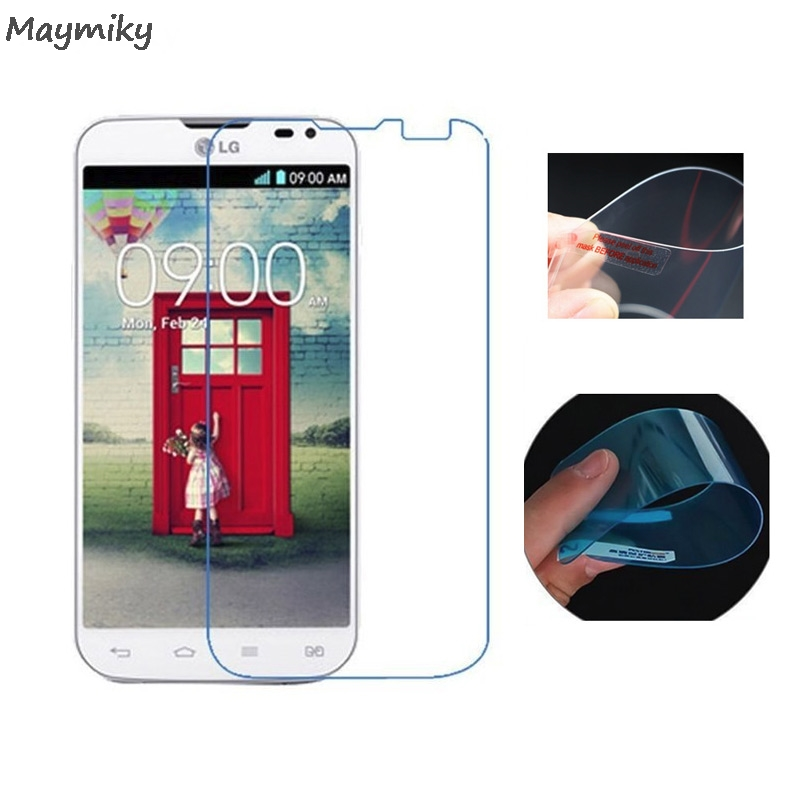 Nano Explosion-proof (Not  Glass) Clear Screen Protector Front Protective Film For LG L90 Dual/D410 Film