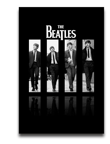 The Beatles Wallpaper Sticker 50x75CM Top Design Wall Poster