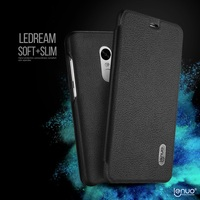 LENUO For Xiaomi Redmi Note4 Leather Phone Cover Ledream Card Holder Leather Cell Phone Case For