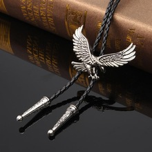 Necklaces Jewelry-Chain Eagle-Pendant Rodeo Indian Women Fashion Cowboy Belt Bolo-Tie