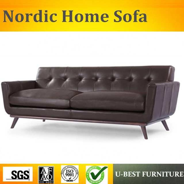 U Best Nordic Style Furniture Setting Room Solid Wood Sofa Coffee