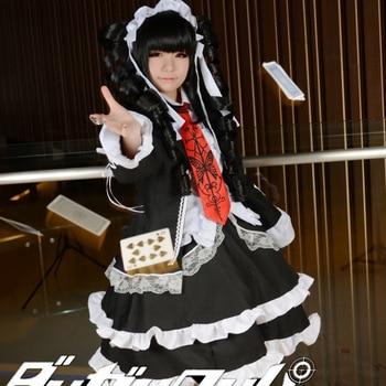 Dangan Ronpa Danganronpa Celestia Ludenberg Uniform Cosplay Costume Anime Halloween Cosplay Set Сумка