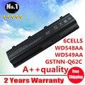 Venta al por mayor nuevos 6 celdas de la batería del ordenador portátil MU06 MU09 NBP6A174 NBP6A174B1 encajen para HP PAVILION g4 dv7 serie DV6 envío gratis