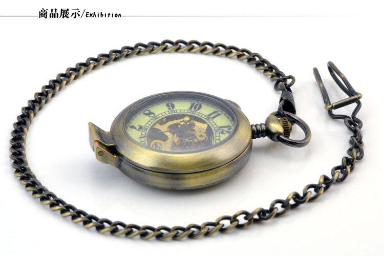 bolso mecânico dos homens do vintage mão