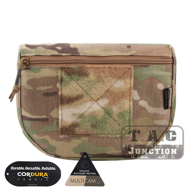 Emerson Tactical Drop Pouch EmerosnGear Fanny Pack Tool Organizer Bag Front Pocket for Body Armor Plate Carrier Vest