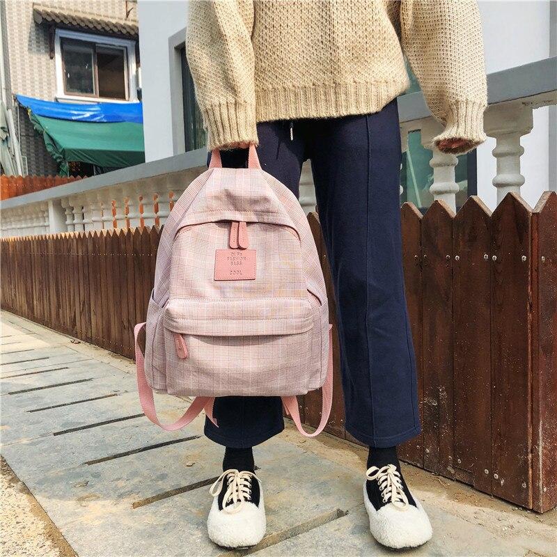 Fashion Women Backpack For School Teenagers Girls Stylish School Bags Ladies Travel Backpack Female Bookbag Mochilas Schoolbag