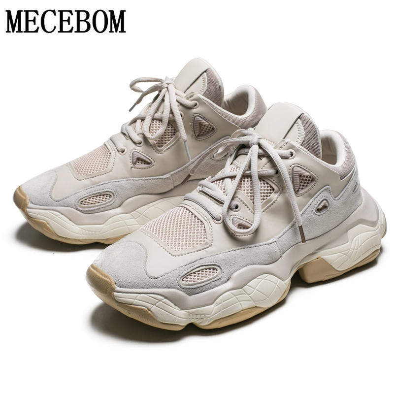 Haute couture hommes Chunky Sneakers réseau célébrité épaisse semelle papa chaussures pour hommes à lacets confortable hommes chaussures décontractées 9500 m