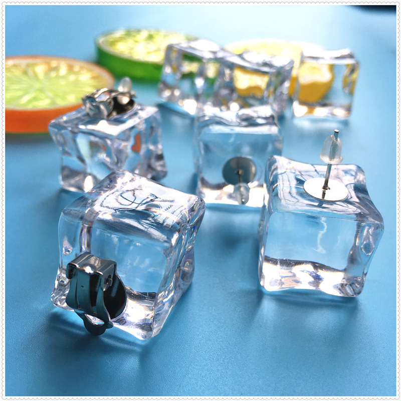 Ice Cubes Earrings 2