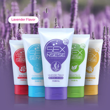 1 Pcs Floral Water-soluble Body Lubricants 80g for Men And Women Anal Fluid Couple Massage Oil Adult Sex Toys
