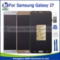 De alta calidad para samsung galaxy j7 j700 j700f j700m j700h pantalla lcd táctil digitalizador asamblea negro oro blanco + herramientas