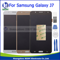 High Quality For Samsung Galaxy J7 J700 J700F J700M J700H Lcd Display Touch Screen Digitizer Assembly Black White Gold +Tools
