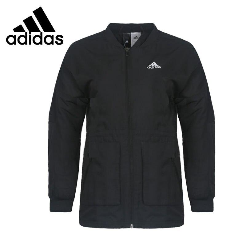 Original New Arrival Adidas MV JKT WV LONG Women's jacket Sportswear original new arrival adidas mv jkt warm mix women s jacket hooded sportswear