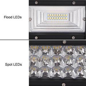 Image 4 - Светодиодсветильник панель для внедорожника, комбинированный луч света 7D, 22, 32, 42, 52 дюйма, 12 В, 24 В, светодиодный тракторов, лодок, внедорожников, квадроциклов, 4WD