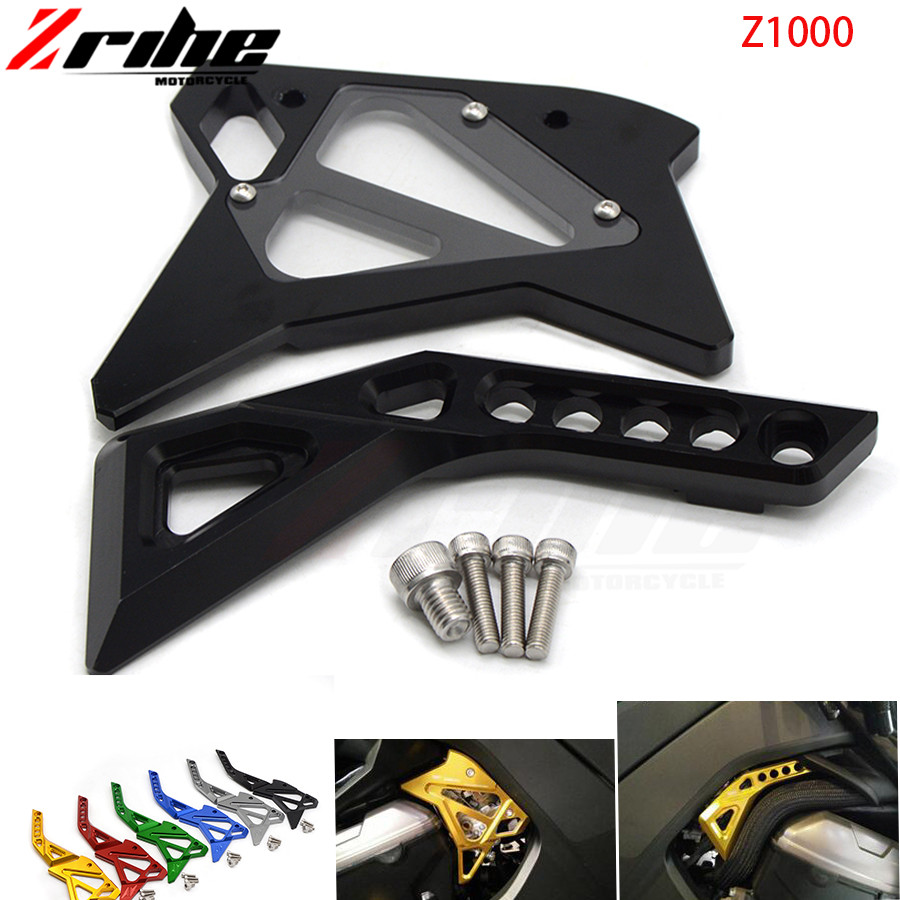 Motorcycle Accessories CNC Aluminum fuel injection injector Cover Guard For Kawasaki Z1000 Z 1000 Z1000SX 2014 2015 2016 2017 cnc aluminum frame fuel injection injector cover protector guard for kawasaki z1000 2014 2016 14 15 16