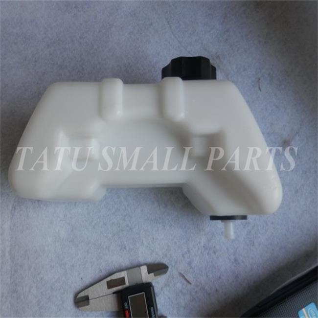 FUEL TANK ASSEMBLY FOR MITSUBISHI T200 2 CYCLE TRIMMER FUEL TANK CAP SPRAYER BRUSHCUTTER REPLACEMENT PARTS lzone racing black aluminium fuel surge tank with cap foam inside fuel cell 40l without sensor jr tk21bk