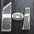 No Drill Car Accessories For BMW X1 F48 2-series Touring 218i 220i 220d 225xe AT Auto Accelerator Foot Rest Pedal Pad Sticker