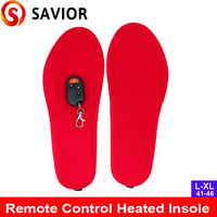 2017 New heated Insole with remote control,for outside working,old people,foot warmer,winter keep warm.gift for winter.free ship