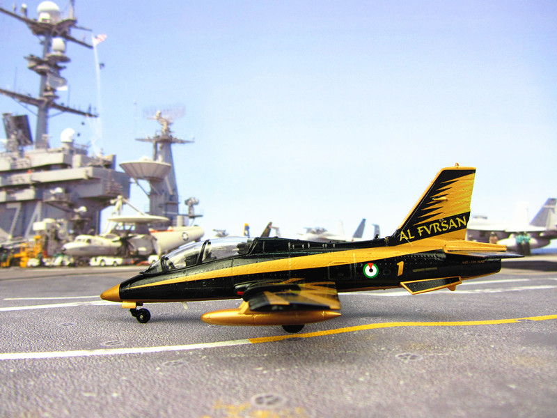 Italy Airforce MB339 trainer metal alloy static simulation model aircraft model display gift 1:72 Italy