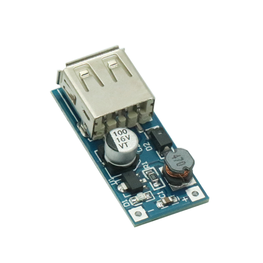 High Conversion! DC-DC USB Step-up Power Boost Module 0.9V-5V to 5V 600mA PFM Control Mini Mobile BoosterHigh Conversion! DC-DC USB Step-up Power Boost Module 0.9V-5V to 5V 600mA PFM Control Mini Mobile Booster