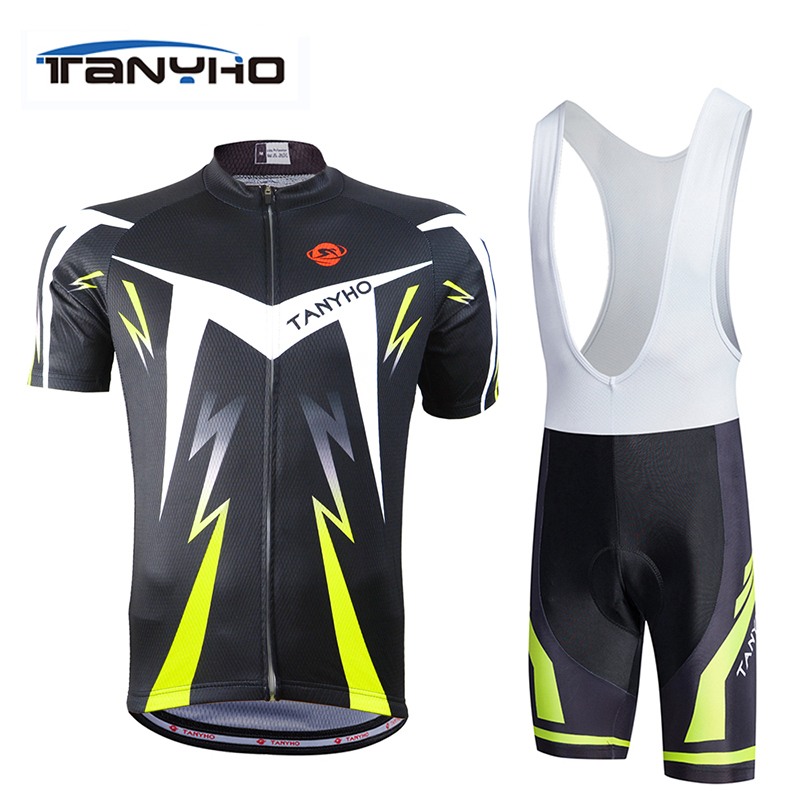 fluorescence green Cycling jersey bicicleta mountain bike ropa ciclismo Bicycle maillot cycling Clothing Shorts Sets