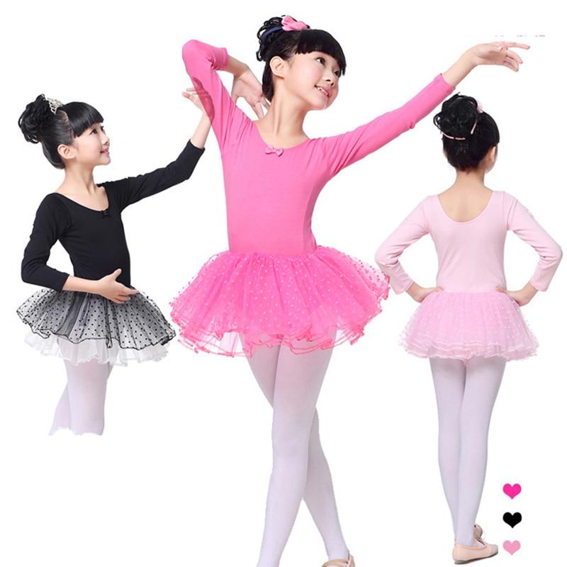 New Children Girls Ballet Latin Mesh Tutu Ball Gown Dress For Kids Girls Leotard Stage Train Dance Clothing Costumes Dancewear 3 4pcs new for ball uff bes m18mg noc80b s04g