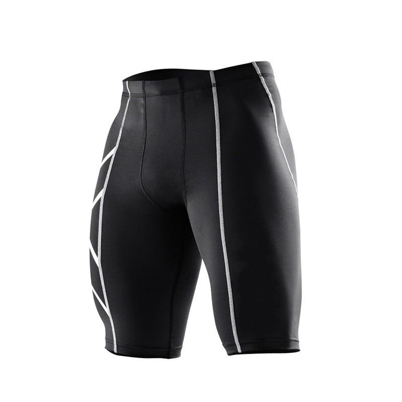 2016 New Clothing Male Compression Tights  Shorts Bermuda Masculina Men Bape jogges Short Pants