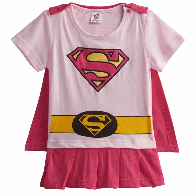 Baby Girl Wonder Woman Costume Rompers with Cape Newborn Robin Girl Batgirl Supergirl Playsuits Infant Party Fancy Dresses  sc 1 st  Aliexpress & Online Shop Baby Girl Wonder Woman Costume Rompers with Cape Newborn ...