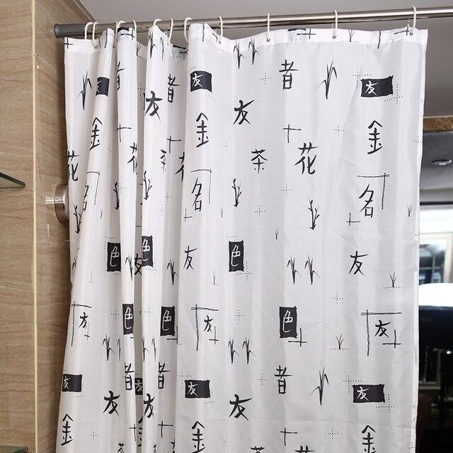 Chinesische zeichen badezimmer dusche vorhang wasserdicht bad ...