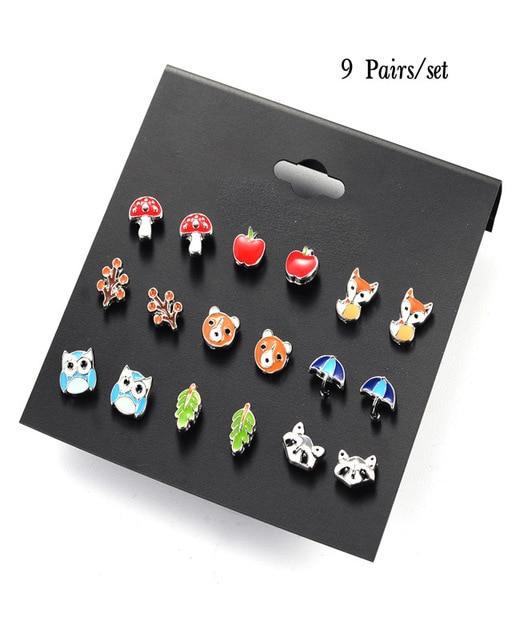 DANZE-20-Pairs-lot-Cute-Fruit-Animal-Stud-Earrings-Set-For-Children-Women-Frog-Fox-Star.jpg_640x640 (1)
